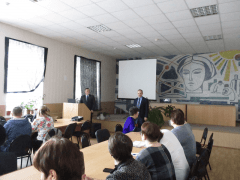 Выступление начальника Управления ветеринарии Тюменской области Шульц В.Н.